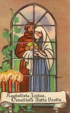 Martta Wendelin Vintage Christmas Cards, Retro Christmas, Christmas Time, Christmas Postcards, Carl Larsson, Happy Birthday Jesus, 23 November, Old Ones, Finland
