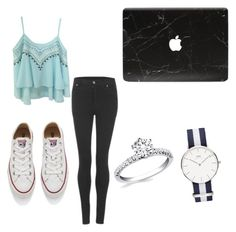 """""""#OutfitTomorrow"""" by lifestyle-outfits on Polyvore featuring Cheap Monday and Converse"""