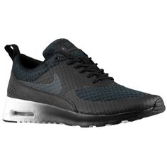 Nike Womens Wmns Air Max Thea PRM BLACKANTHRACITEMETALLIC SILVERWHITE 85 M US * Check this awesome product by going to the link at the image.(This is an Amazon affiliate link and I receive a commission for the sales)