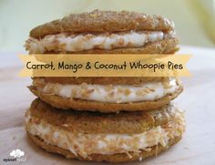 Carrot, Mango & Coconut Cupcakes and Whoopie Pies Recipe — epicuricloud