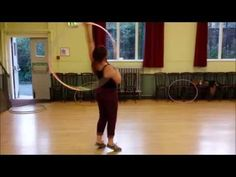 Tamzin - elbow to neck barrel roll hula hoop tutorial - YouTube