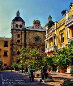 iglesia san pedro claver cartagena colombia