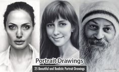 40 Beautiful and Realistic Portrait Drawings for your inspiration - part 2 Portrait drawing alaya by schmoopy Portrait painting Portrait painting will smith by Portrait painting hel Beautiful Pencil Drawings, Realistic Pencil Drawings, Bird Drawings, Charcoal Drawings, Face Pencil Drawing, Pencil Art, Painting Words, Landscape Drawings, Portrait Illustration