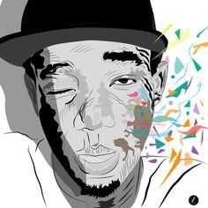 Creative Kid - Me _  Illustration style cartoon réalisé avec Adobe Illustrator. Copyright Creative Kid 2014