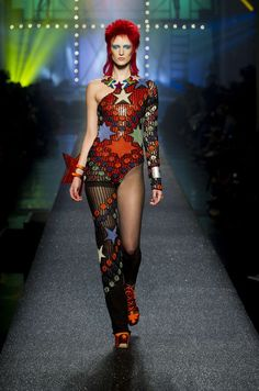 837a415fb4 Gaultier Brings The 80s Back With Fashion Homages to Grace Jones