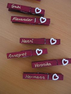 Unbelievably nice idea if the guests do not know each other - Dekoration Hochzeit - - Wedding Pics, Summer Wedding, Diy Wedding, Dream Wedding, Marry You, Thanksgiving Decorations, Table Centerpieces, Diy And Crafts, Place Cards
