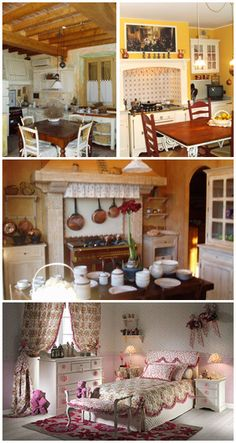 Marta il pregiato legno massello di ciliegio rievoca for Country francese arredamento