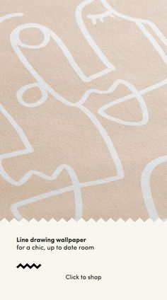 Our Scribble Faces wallpaper collection is the perfect way to feature the minimalist line drawing trend in the home in a big way. The abstract face designs have been hand-drawn using the continuous line drawing, technique. Black and white, pink, sage or nude colours - these wall murals are for anyone who loves modern, abstract design and wants to create a stylish and artistic space as part of their interior design.