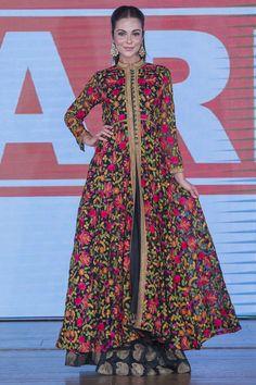 Warda Prints Collection at Pakistan Fashion Week 8 London 2015