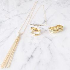 Gold Jewels! WWW.ALIBINYC.COM
