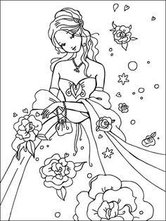 cinderella coloring pages Cinderella Coloring Pages, Princess Coloring Pages, Disney Coloring Pages, Coloring Book Pages, Free Coloring, Coloring Pages For Kids, Copics, Prismacolor, Color Activities