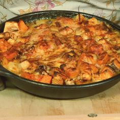 the chew | Recipe | Nancy Fuller Ginsberg's Root Vegetable Bake