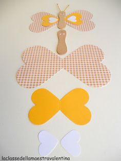 La classe della maestra Valentina: fiori carta