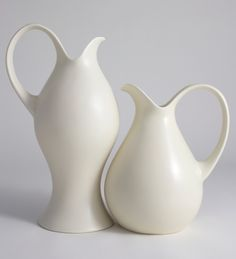 Eva Zeisel pitchers.