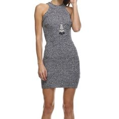 Hp Fitted Knit Dress