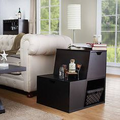 Chairside Tables with Storage Liberty Furniture Bayside Laptop