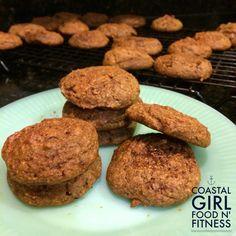 Cleaned Up Cookies: Pumpkin Bites: Flourless, sugarless taste of fall!