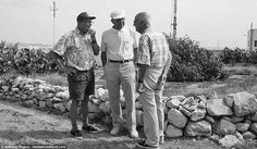 During a visit to Malta in Viktor Schnez (middle) discusses the events of 3 January 1942 with eyewitnesses Peter Micallef (left) and John Galea (right). The Ju 88 crashed in the field behind where the three are standing Malta History, The Siege, Ww2, New Books, Insight, Battle, January, Middle, Events