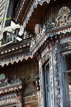Traditional russian architecture: История красоты - Два удивительных затерянных дома в Костромской области
