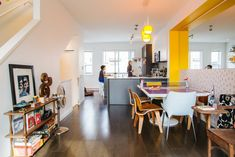 A Creative, Colorful Canadian Townhouse