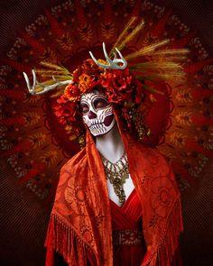 Las Muertas, une superbe série de portraits du photographe américain Tim Tadder.