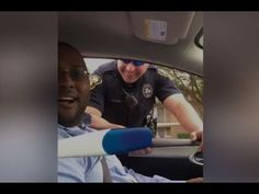Police Pull Over Couple To Reveal Pregnancy Announcement – Law Officer