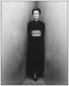 Irving Penn. Duchess of Windsor, portait corner. New York. May 27, 1948 [::SemAp FB || SemAp::]