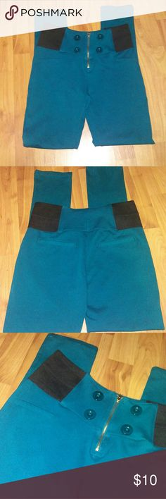 *3 for $15* High Waist Green Jegging Brand new without tags. Bundle and save with other 3 for $15 items. Shinestar Pants Leggings