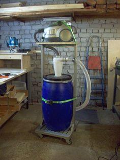 Пылесос с циклонным фильтром для мастерской своими руками - Блог хоббиста-самоучки