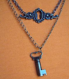 THE SECRET ROOM necklace is baaaaack. $24.00.  It just works.  :)