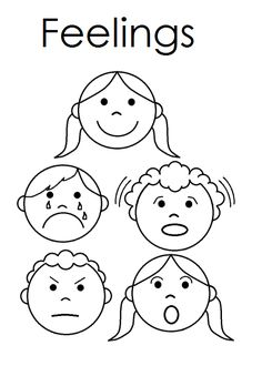 My Book About Feelings printable. Maybe make one book for