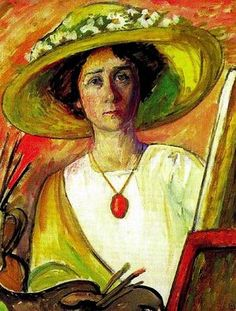 Self Portrait, Gabriele Munter