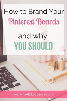 One of my biggest Pinterest tips to anyone trying to get noticed on Pinterest is to brand their boards. It helps you to be recognized. There a few different ways you can brand your Pinterest. Check out this post on how.