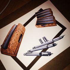 #pen #set #design #sketch #copic #marker #industrialdesign