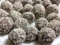 Recetas de Gourmet: Trufas con Chocolinas Oatmeal Cookie Bars, Chocolate Toffee, Xmas Food, Truffles, Almond, Bakery, Food And Drink, Herbs, Gourmet