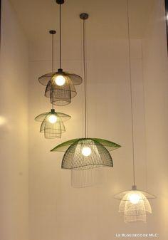 luminaires suspension papillon Elise Fouin - Le Blog déco de MLC