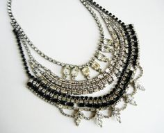 The Anna Necklace  One Of  A Kind  Vintage 1950s by LoveObsessed on Etsy