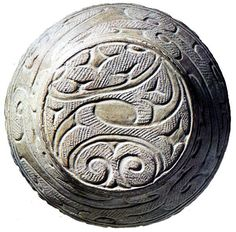 Japanese clay vessel made in Jyomon era (BC 145~3000), Japan