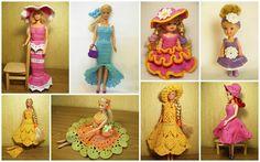 Наряды для барби Dollhouse Dolls, Princess Peach, Crochet Necklace, Barbie, Dollhouses, Character, Usa, Doll Houses, Barbie Dolls