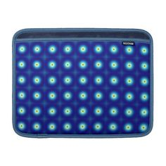Choose from a variety of Blue laptop sleeves or make your own! Shop now for custom laptop sleeves & more! Macbook Air Sleeve, Fractals, Circles, Personalized Gifts, Sleeves, Blue, Shirts, Design, Customized Gifts