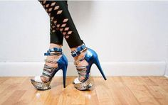 extremely busy heels....