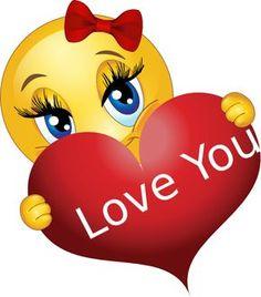 Love You Girl Smiley Emoticon Clipart Royalty Free Public Domain Animated Emoticons, Funny Emoticons, Funny Emoji, Smileys, Love Smiley, Emoji Love, Cute Emoji, Sick Emoji, Emoji Images