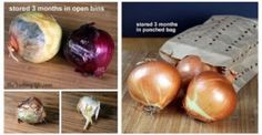How To Store Your Garlic & Onions So They Last For Months