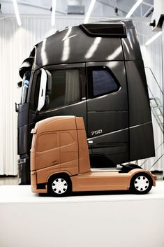 Clay model of the new Volvo FH
