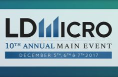 Stony Hill Corp. to Present at 10th Annual LD Micro Main Event