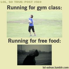 LOL SO TRUE POSTS @Han Ma Nguyen this is the only time I've ever seen you come close to running