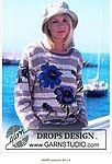 "Photo from album ""РОЗЫ"" on Yandex. Drops Design, Garnstudio Drops, Knitted Flowers, Views Album, Graphic Sweatshirt, Pullover, Knitting, Sweatshirts, Yandex Disk"