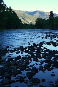 Park City, Utah! Glistening Blue River