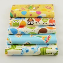 100% algodão 40 cm x 50 cm desenhos animados quilting patchwork artesanato costura roupas de cama têxtil(China (Mainland))