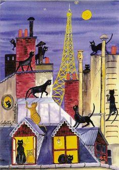Gatos de París